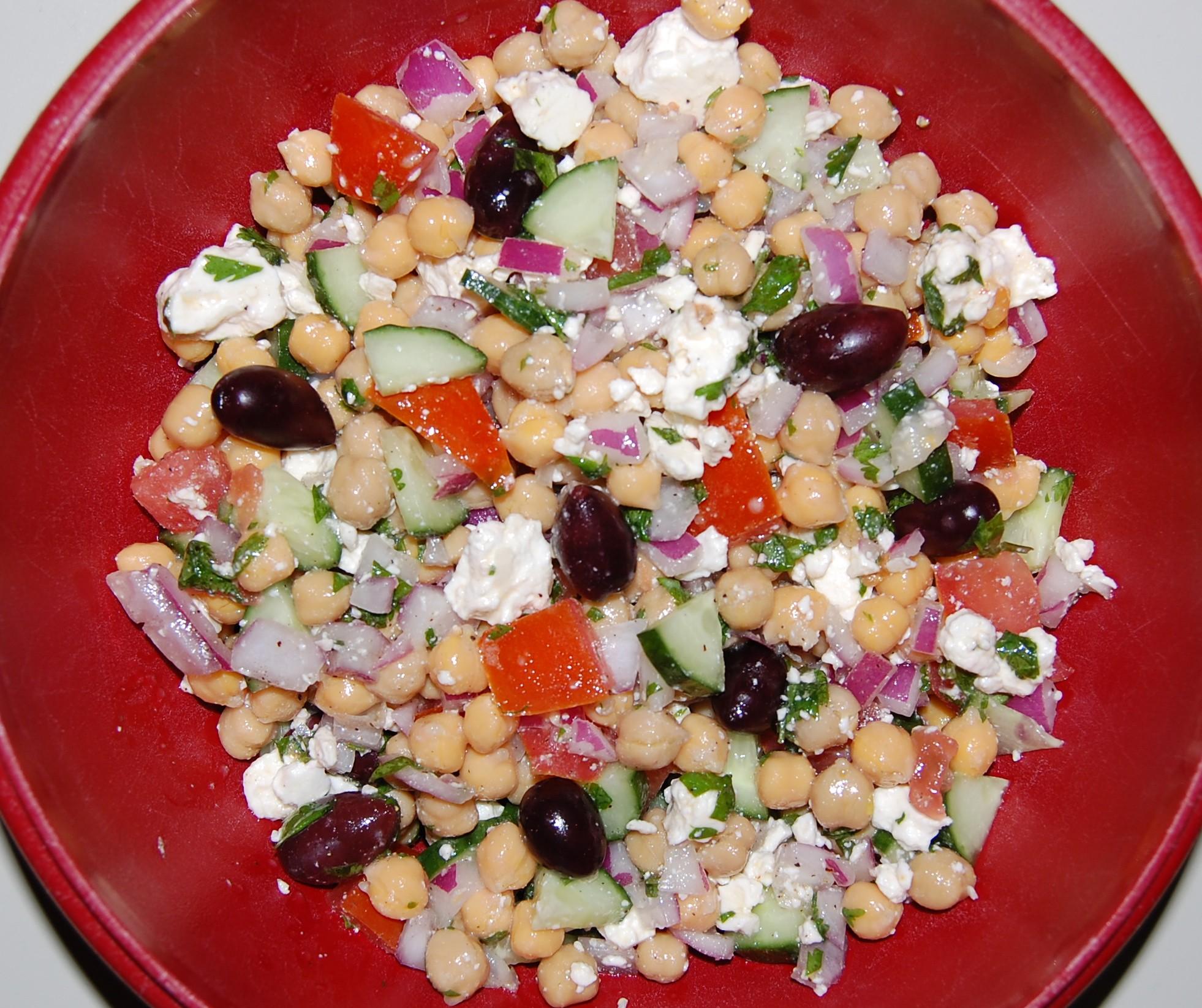 chickpea salad mediterranean chickpea salad mediterranean chickpea ...