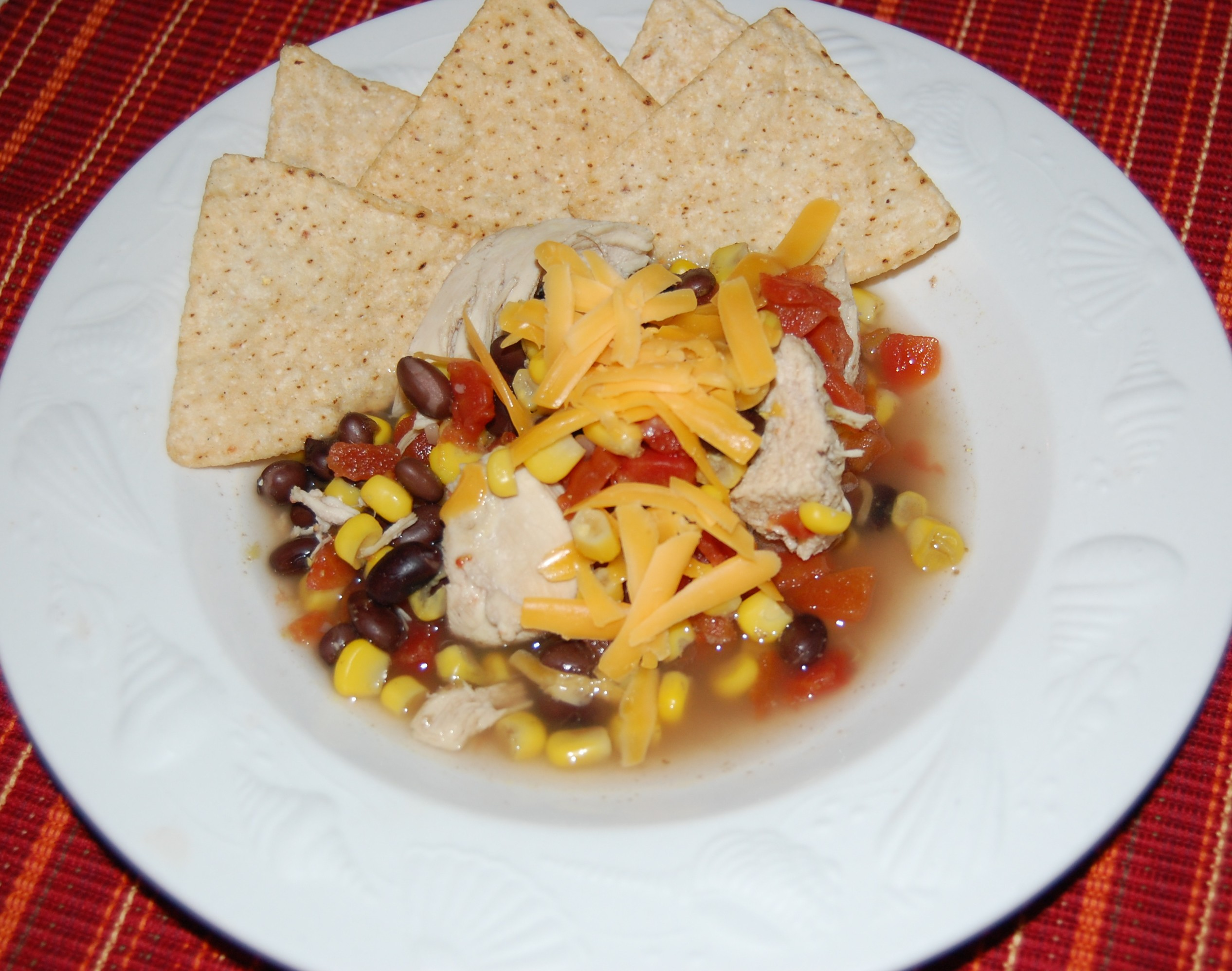 ... chicken tortilla soup slow cooker creamy chicken tortilla soup