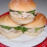 Slow Cooker Chicken Caesar Sliders
