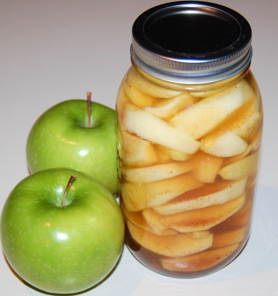 Apple Pie Filling and Crisp
