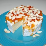 Baked Brie with Apricot and Almonds