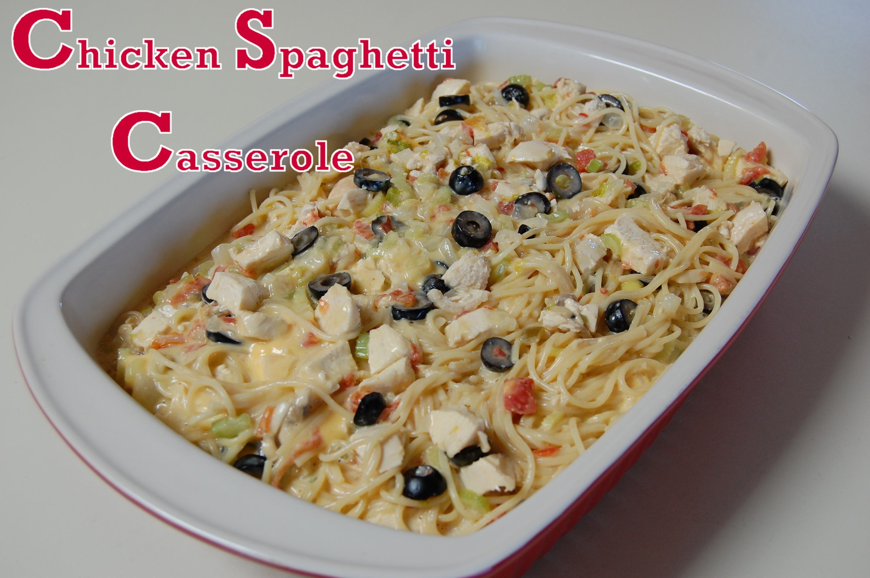Chicken Spaghetti Casserole Recipes — Dishmaps