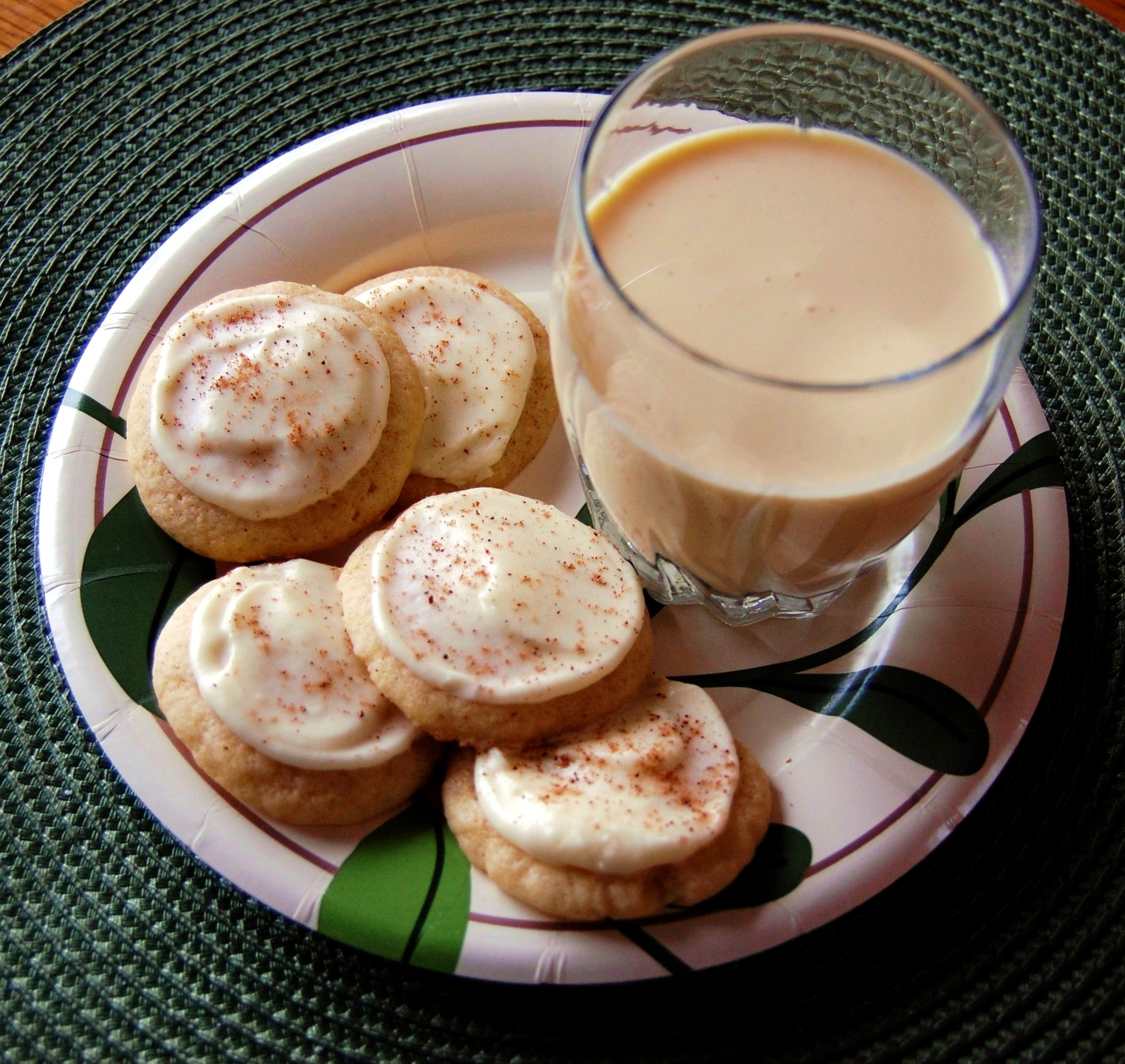 Iced Eggnog Cookies | Cooking Mamas