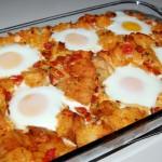 Italian Breakfast Bake with Eggs