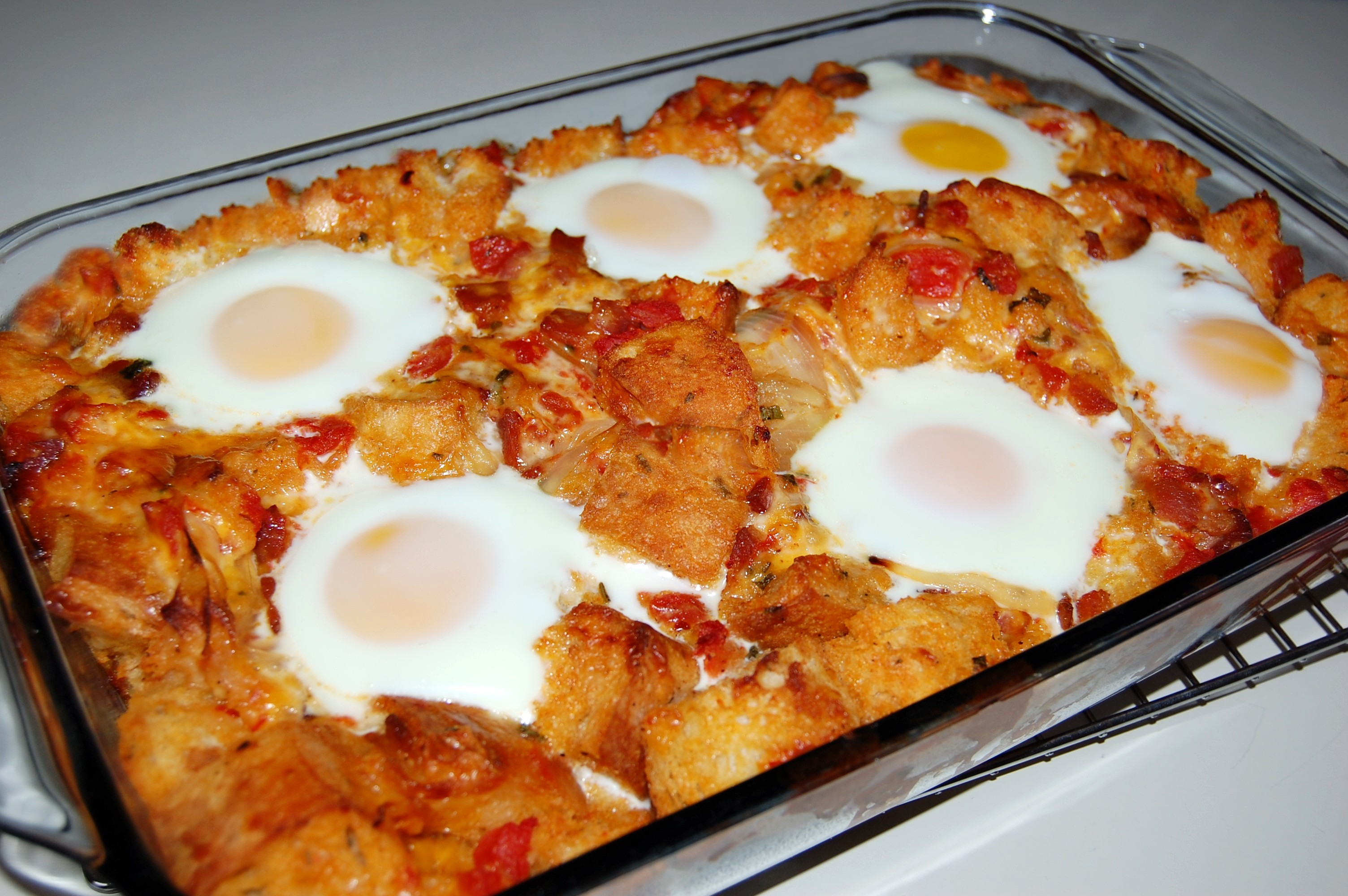 Italian Breakfast Bake with Eggs | Cooking Mamas