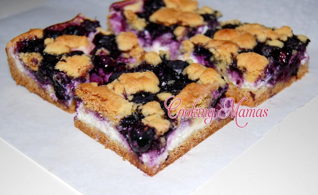 Lemon Blueberry Bars | Cooking Mamas