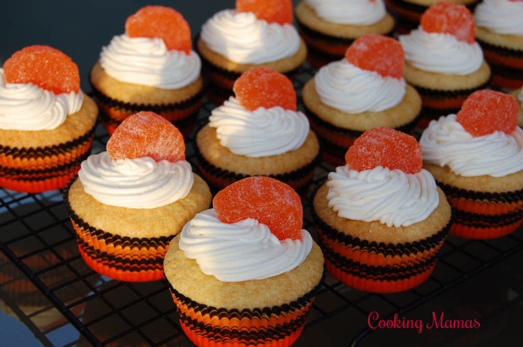 Orange Dreamsicle Cupcakes
