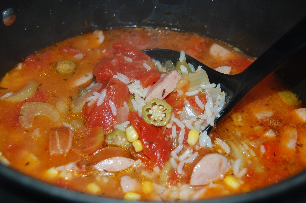 Spicy Chicken Gumbo
