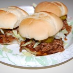 Slow Cooker 3-Envelope Pot Roast or Sliders
