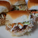 Slow Cooker Kalua Pork Sliders
