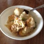 Chicken and Dumplings Pot Pie
