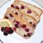 Blackberry Lemon Bread