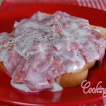 Chipped Beef on Toast