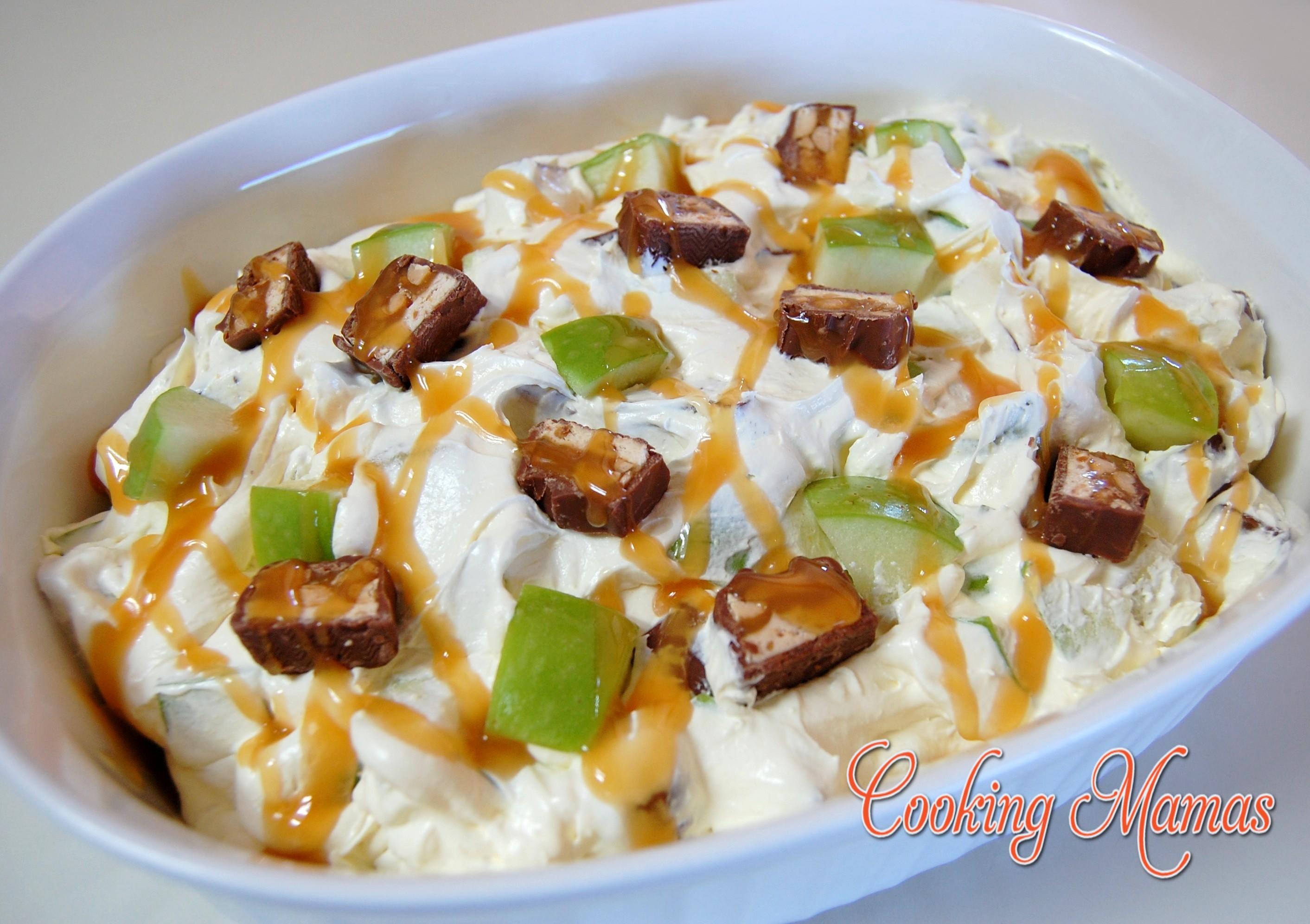 bar salad potluck recipe yummly candy bar salad recipe yummly by brown ...