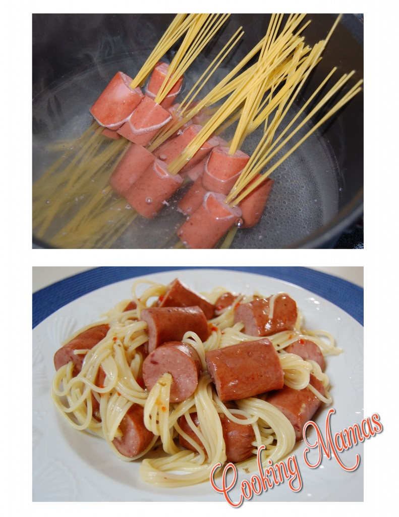 Spaghetti Dogs