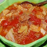 Un-Stuffed Cabbage Roll Soup