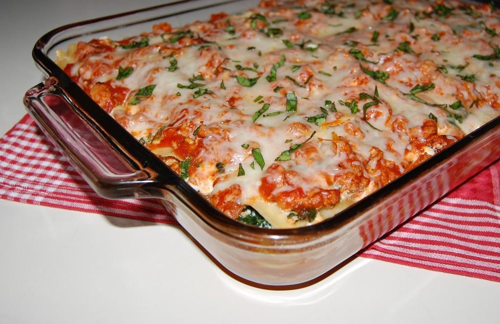 Ashleigh's Turkey Spinach Lasagna