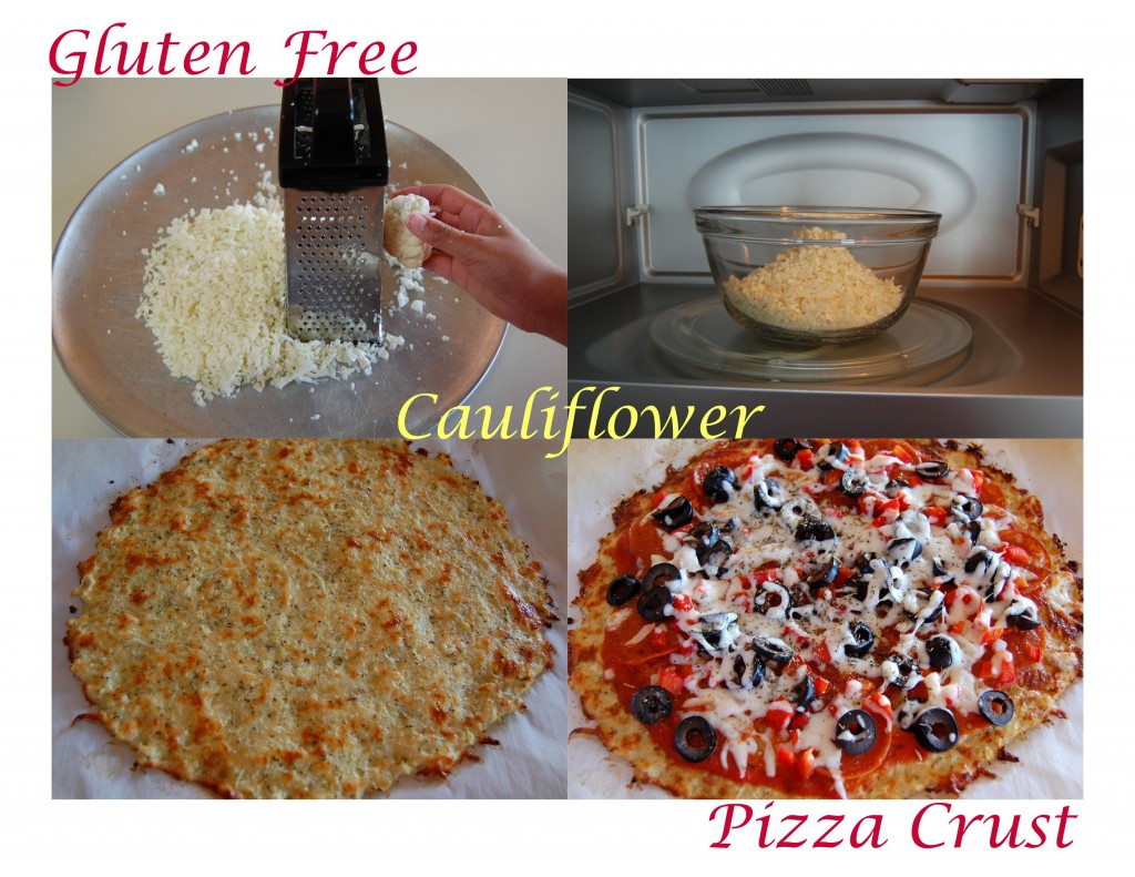 GF Cauliflower Pizza Crust
