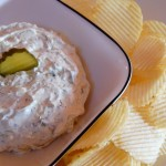 Bailey's Dill Pickle Dip