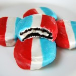 Red White & Blue Dipped Oreos