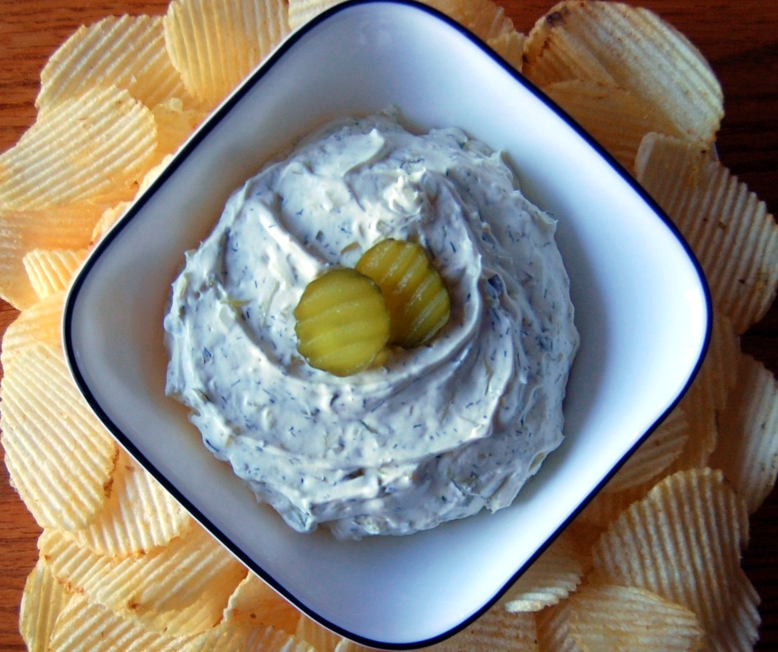 Dill Pickle Dip: Bailey's Dill Pickle Dip