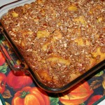 Pumpkin French Toast Casserole with Brown Sugar Crumble