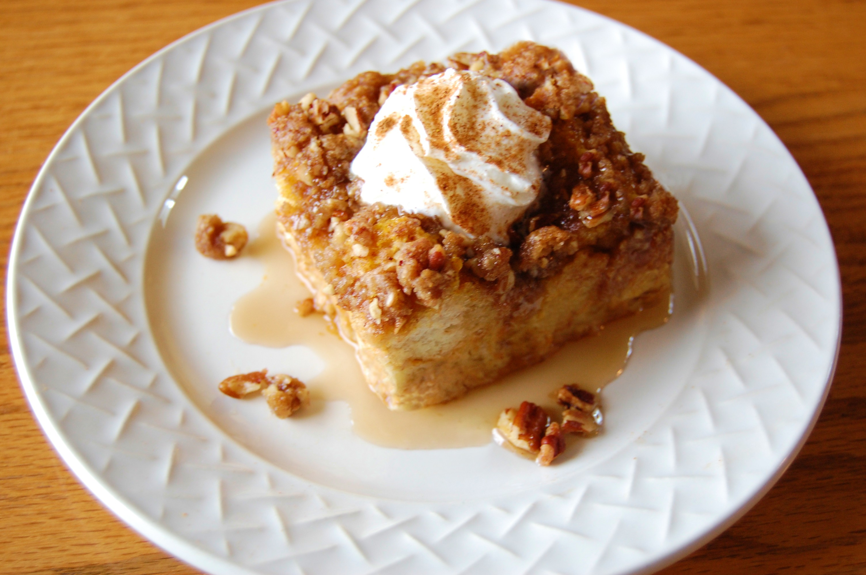 Pumpkin French Toast Casserole with Brown Sugar Crumble | Cooking ...