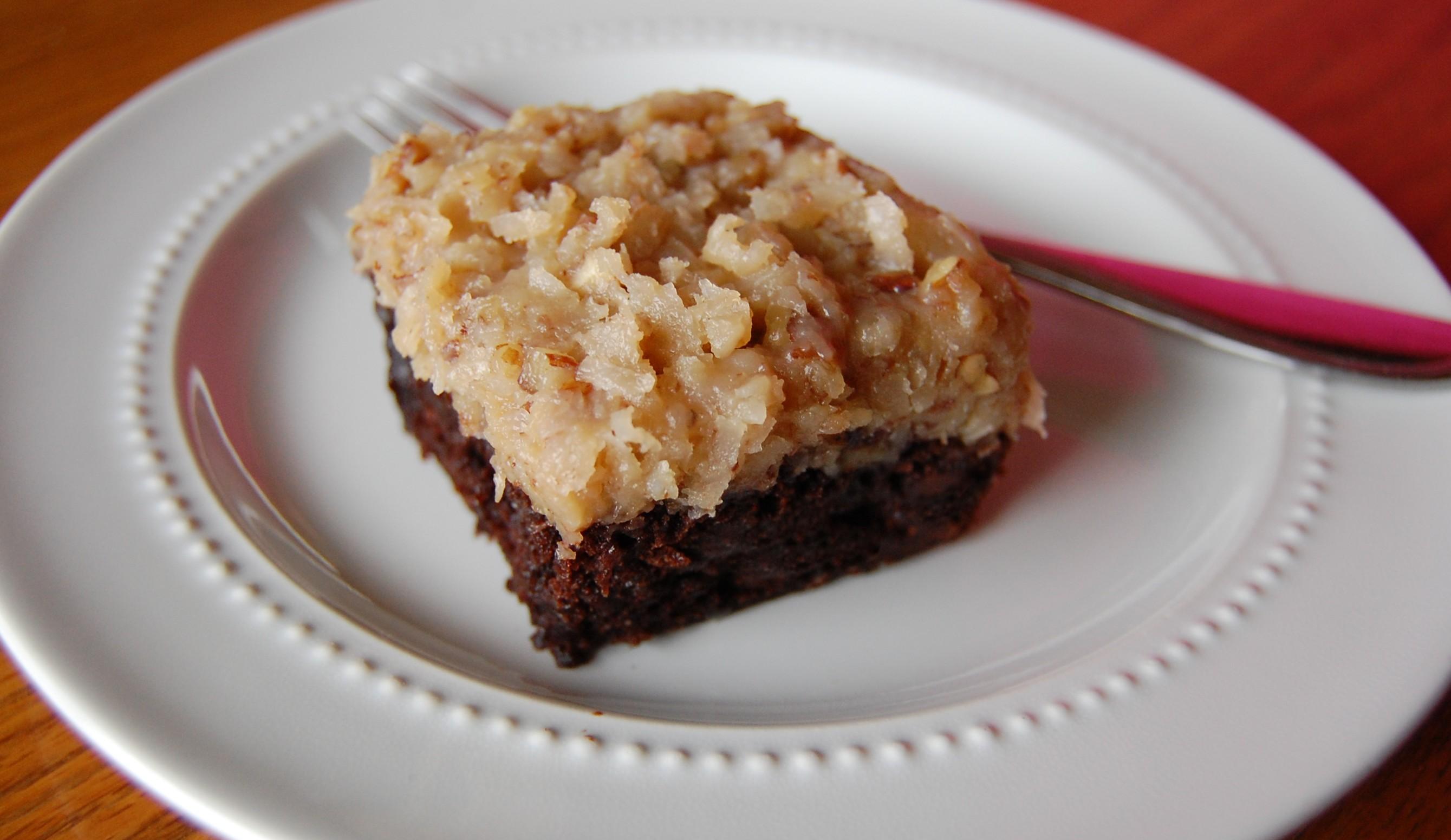 German Chocolate Brownies | Cooking Mamas