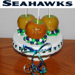 Seahawks Candy Caramel Apples