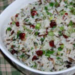 Wild Rice and Cranberry Dressing