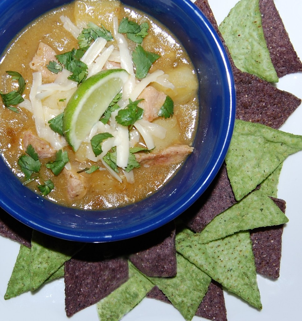 Soup-er Bowl Pork Chili Verde