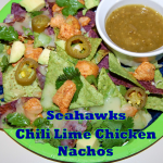 Seahawks Chili Lime Chicken Nachos