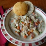 Slow Cooker Chicken Pot Pie Soup