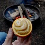 Campfire Orange Glazed Cinnamon Rolls