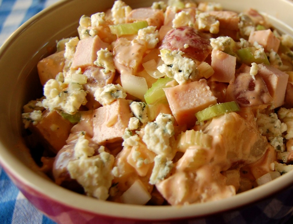 Buffalo Chicken Potato Salad