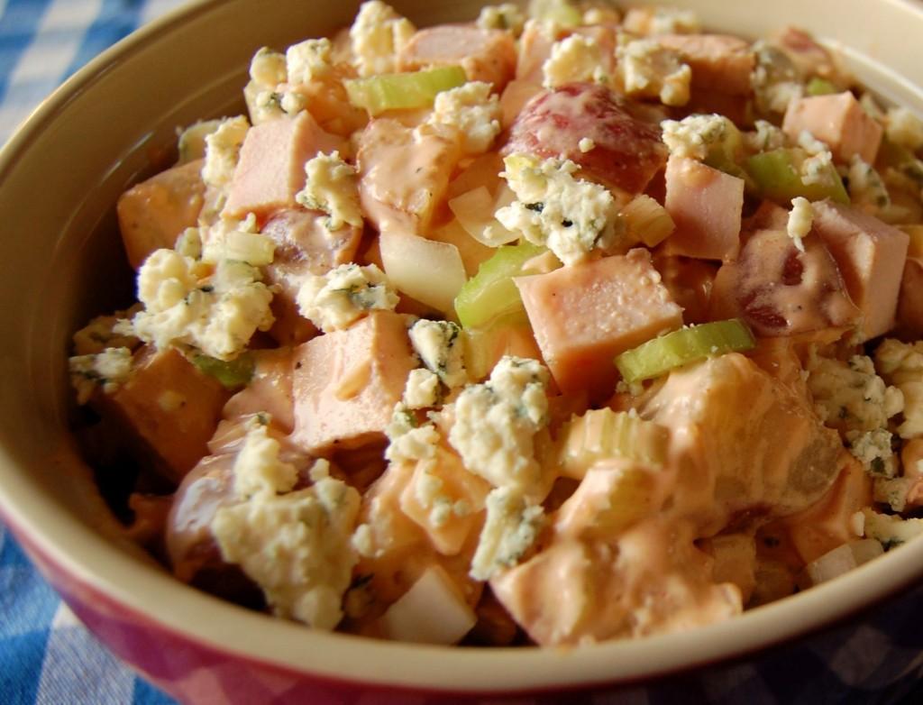 Buffalo Chicken Potato Salad