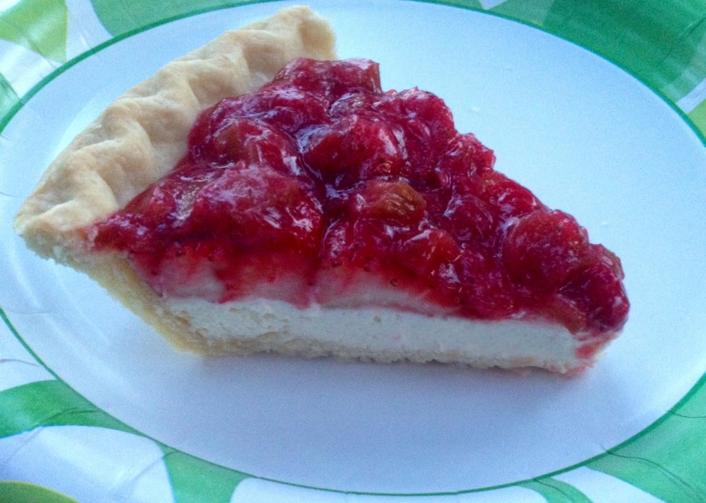 Strawberry Rhubarb Cream Cheese Pie Cooking Mamas