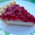 Strawberry Rhubarb Cream Cheese Pie