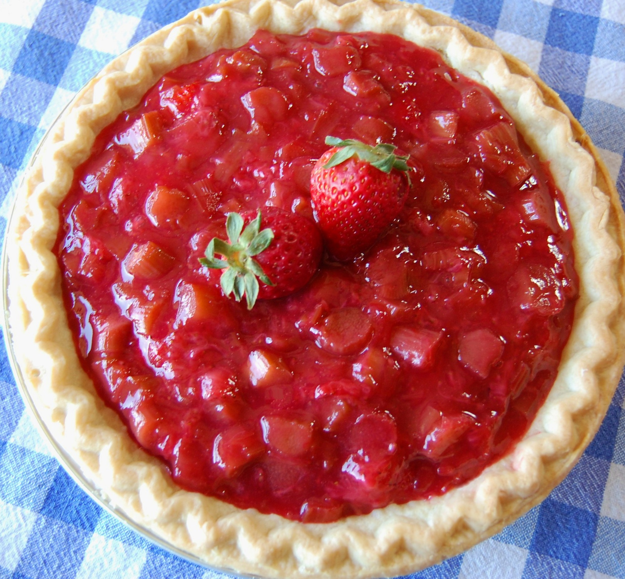 Strawberry Rhubarb Pie Recipes — Dishmaps