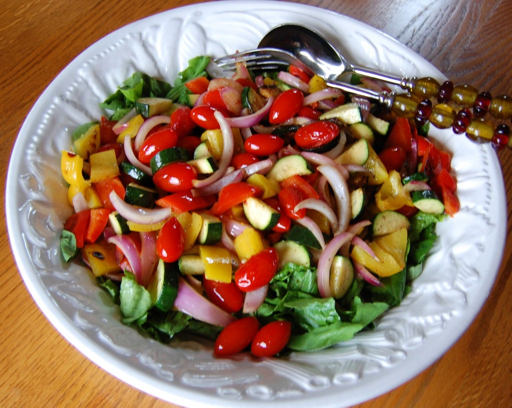 Grilled Veggie Summer Salad