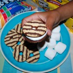 Fudge Stripe Cookie Smores