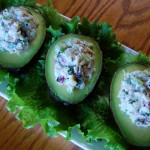 Avocados Stuffed with Dungeness Crab Salad