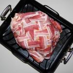 Bacon Wrapped Turkey with Zesty Chipotle and Orange Rub