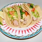Salsa Verde Turkey Tacos