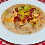 Slow Cooker Bacon Cheeseburger Chowder