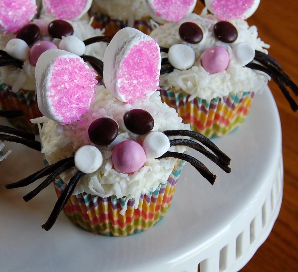 Dust-Bunny Cupcakes