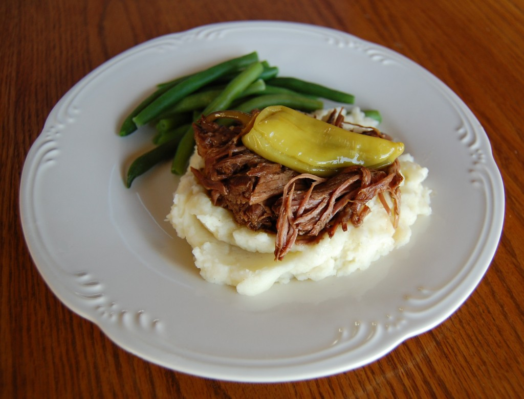 Mississippi Pot Roast or Sliders