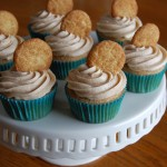 Snickerdoodle Cupcakes with Cinnamon Buttercream Frosting
