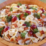 Broccoli Bacon & Grape Pasta Salad