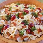 Broccoli Bacon & Grape Pasta Salad